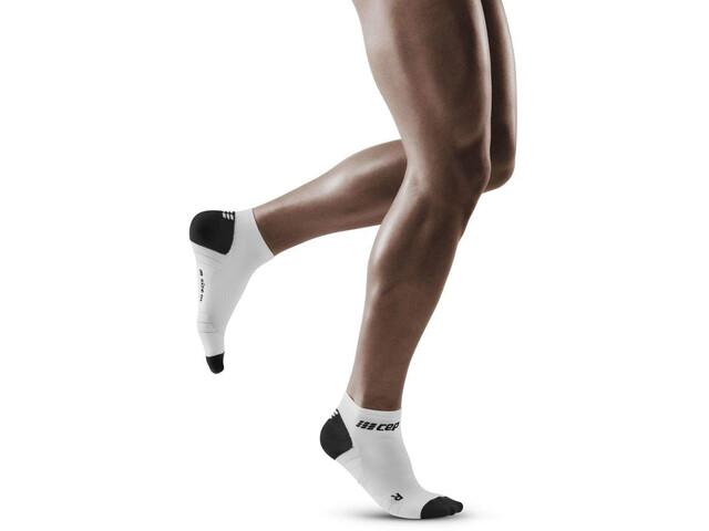 cep 3.0 Low Cut Socks Men white/dark grey